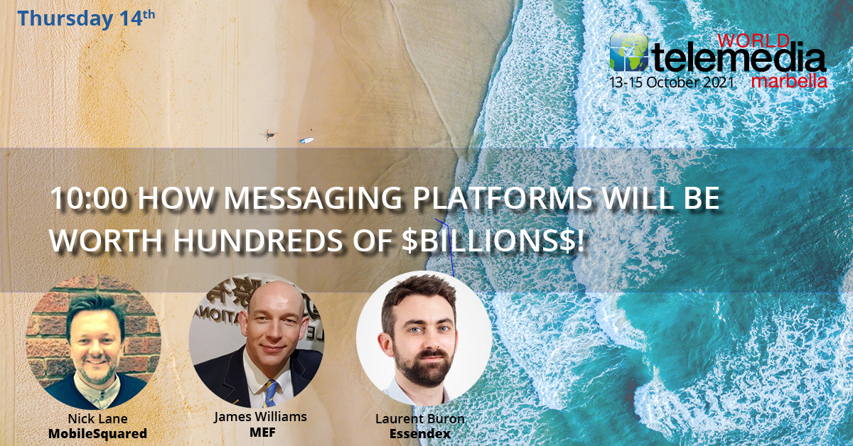 How messaging platforms will be worth hundreds of $BILLIONS$!