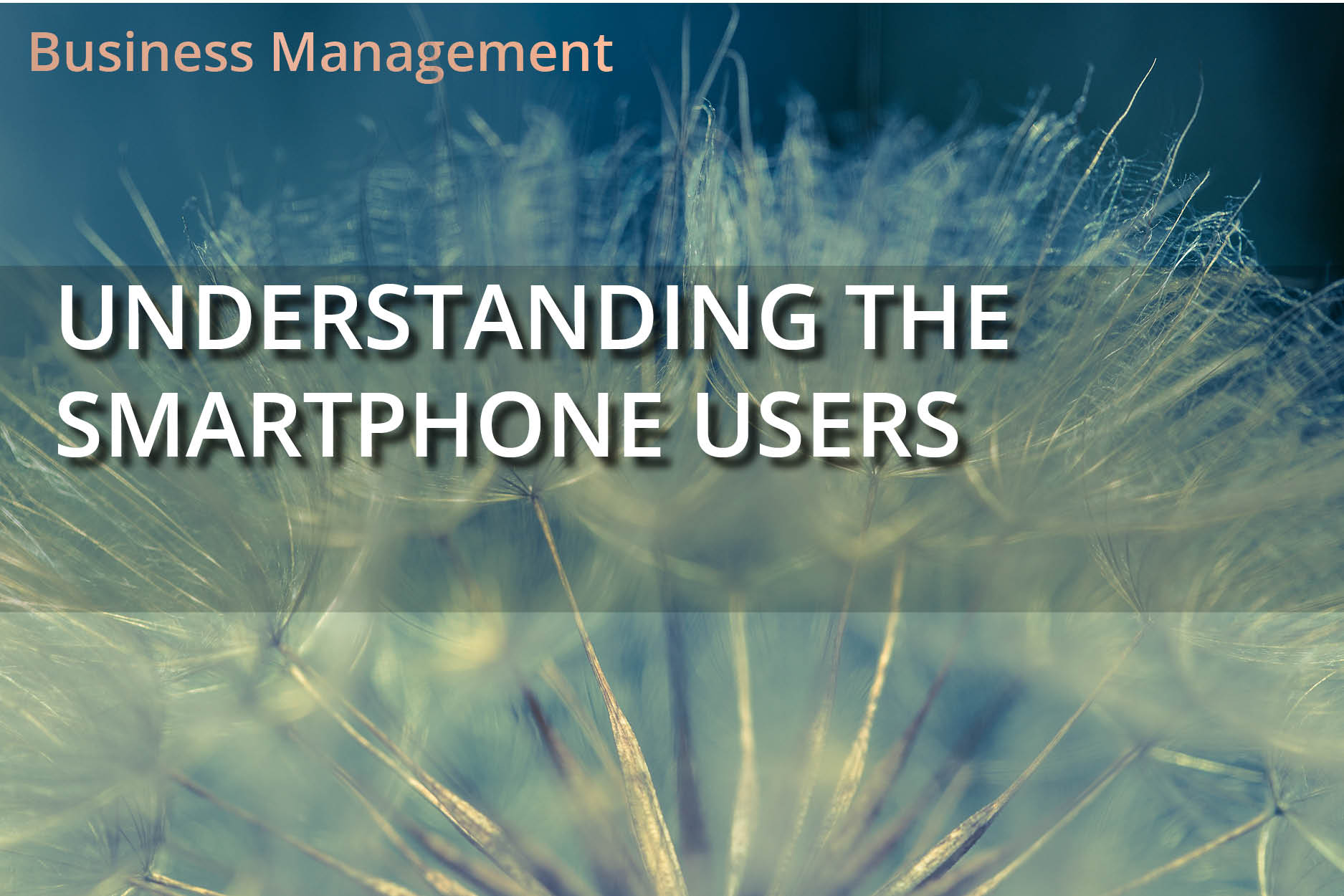 Understanding the SmartPhone Users