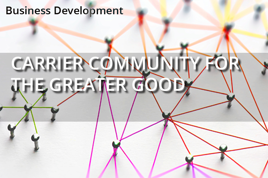 Carrier Community for the Greater Good