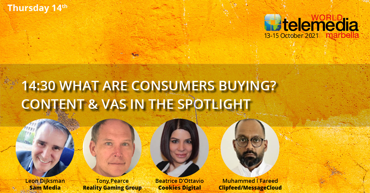 WHAT ARE CONSUMERS BUYING? CONTENT & VAS IN THE SPOTLIGHT